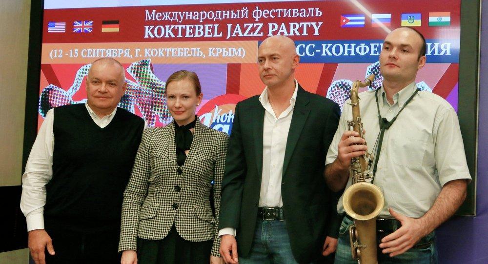 Пресс-конференция, посвященная джазовому фестивалю Koktebel Jazz Party