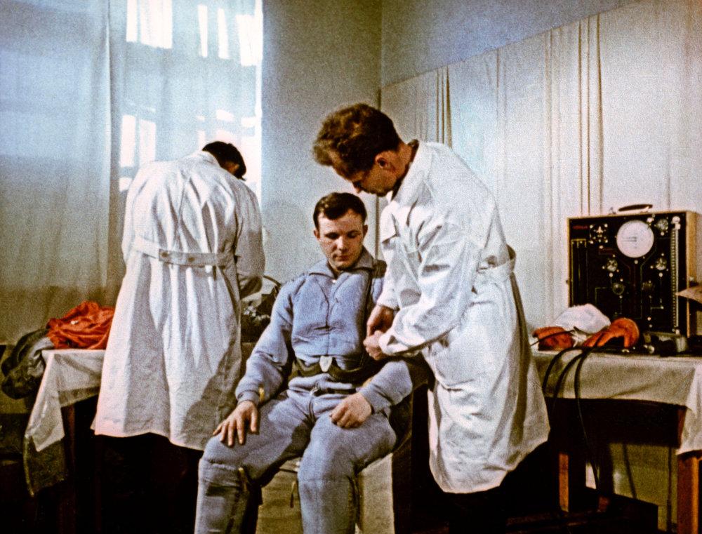 Iouri Gagarine au Centre soviétique de formation des cosmonautes