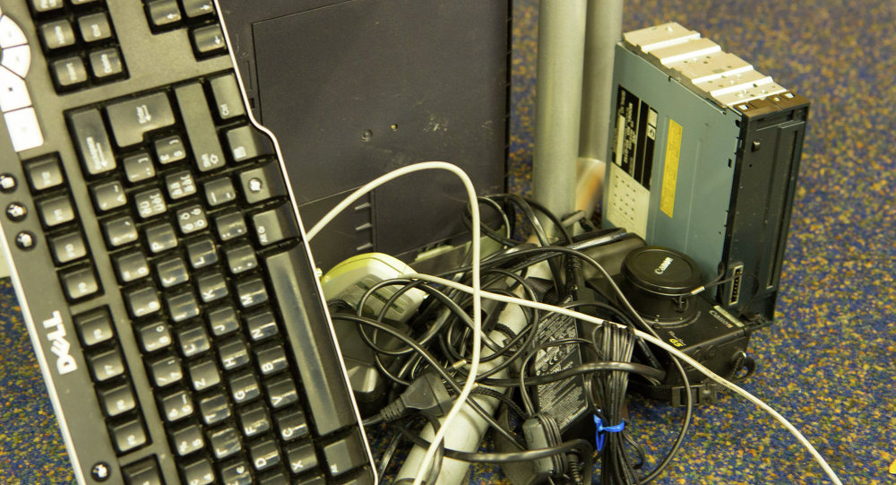 Déchets électroniques