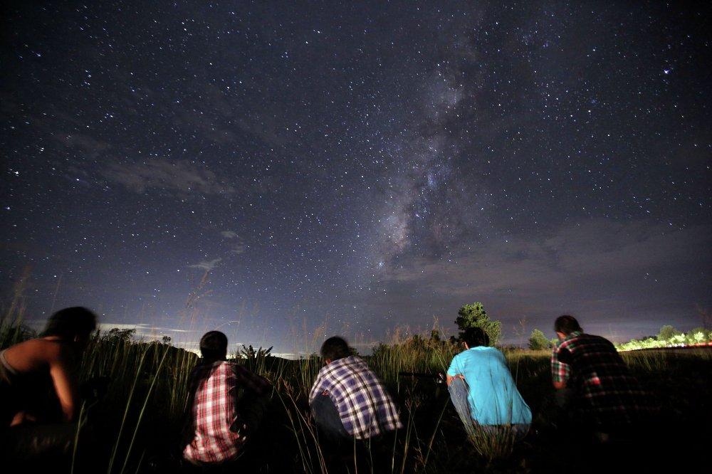 Les Perséides, magnifique pluie d'étoiles filantes