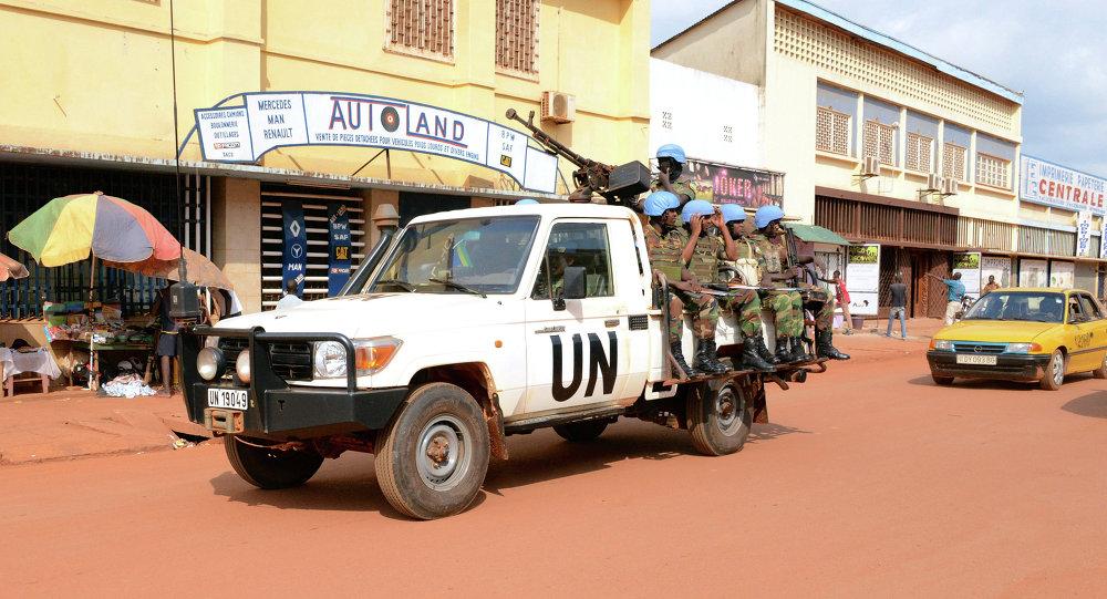 Des soldats de l'Onu à Bangui