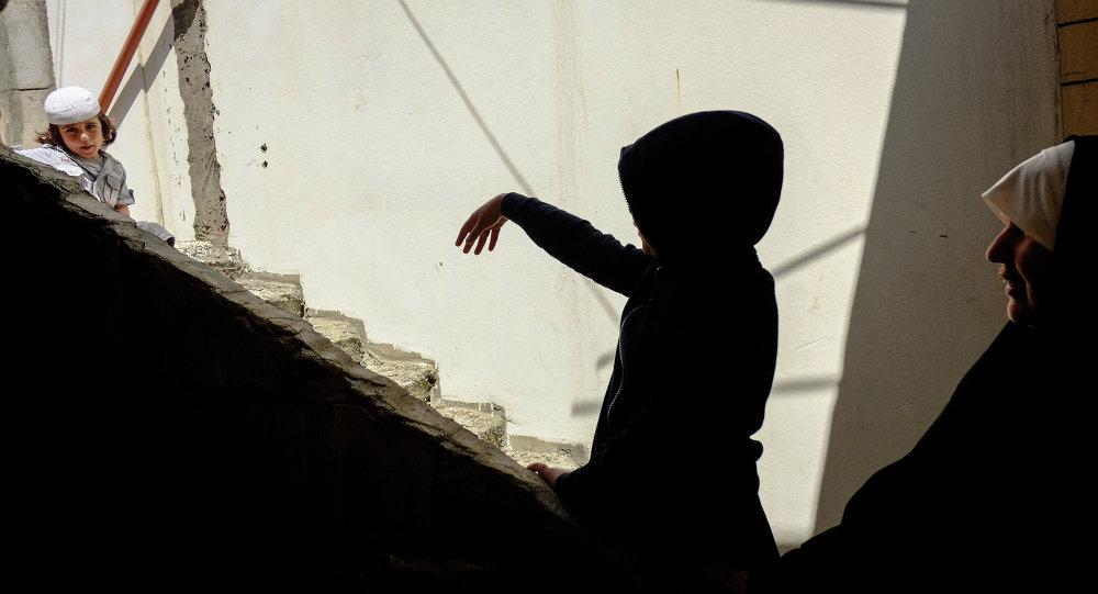 Un réfugié au Liban, image d'illustration