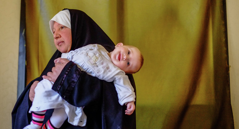 Des réfugiés syriens à Halba, au Liban