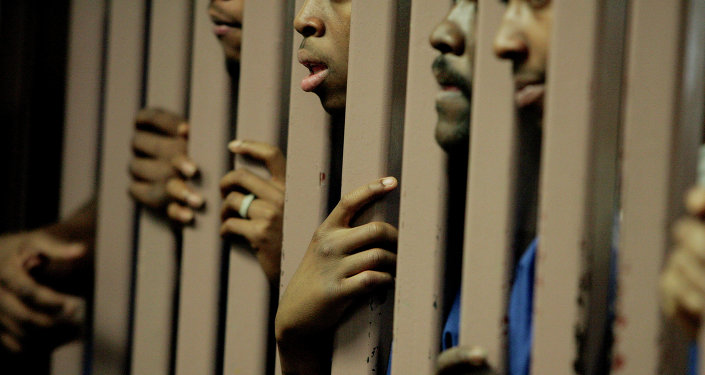 Prisonniers. Image d'illustration