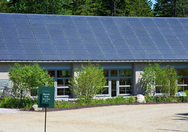 Coastal Maine Botanical Gardens - Solar Panels