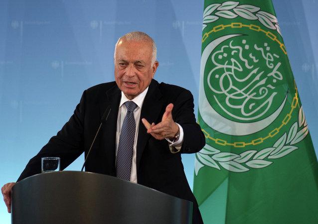 Le secrétaire général de la Ligue arabe Nabil al-Arabi