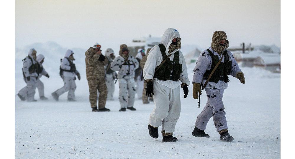 Les Russes en Arctique