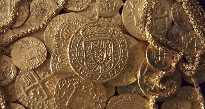Des pièces d'or espagnoles trouvées en Floride