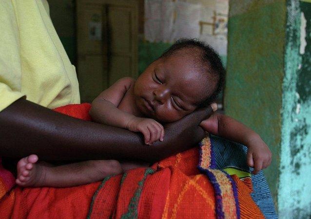 Enfant africain. Image d'illustration
