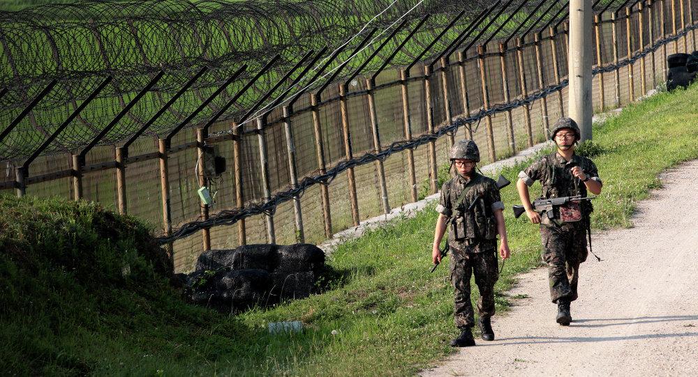 Les deux Corées ont échangé hier des tirs d'artillerie. Image d'illustration.