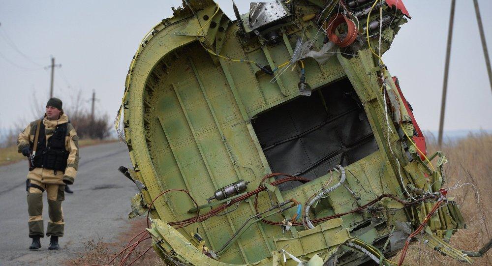 Un expert néerlandais travaillant sur le lieu du crash du Boeing malaisien en Ukraine