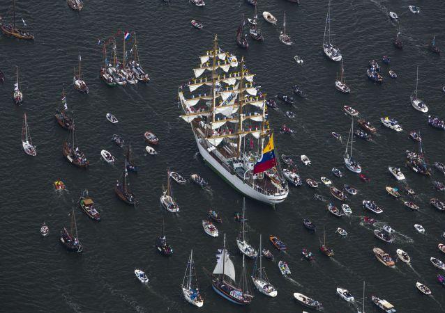 600 navires attendus à Amsterdam
