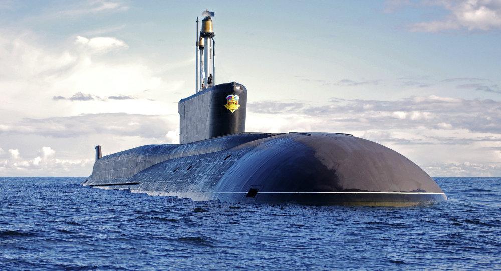 Sous-marin nucléaire lanceur d'engins Alexandre Nevski