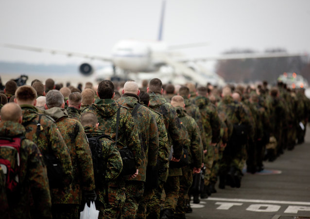 les soldats de la Bundeswehr