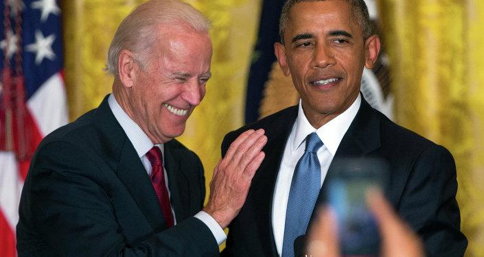 Le vice-président Joe Biden et le président Barack Obama