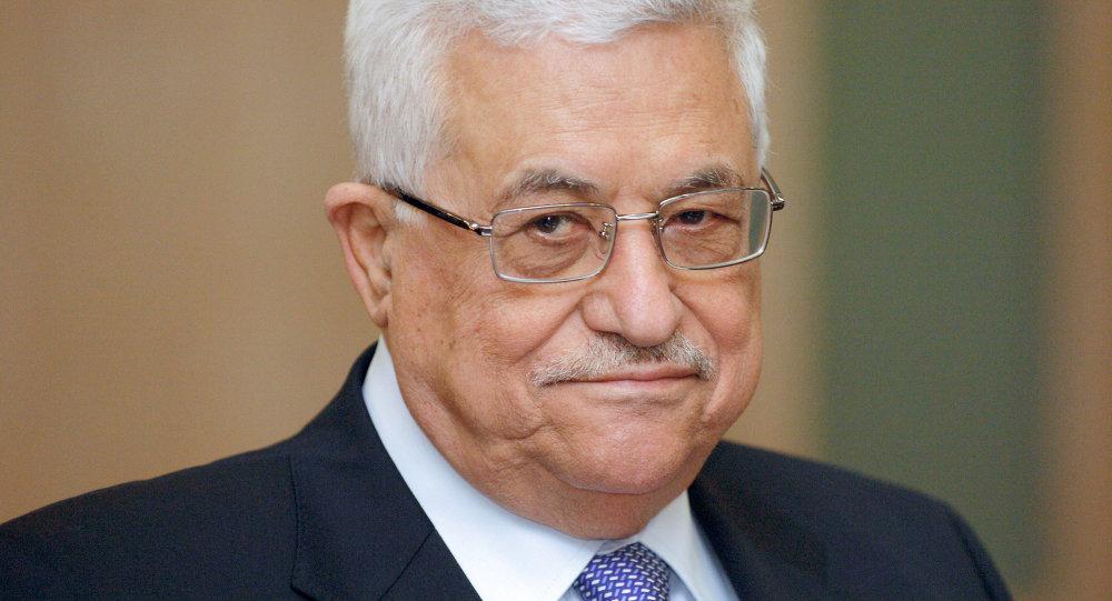 Le chef de l'Autorité palestinienne, Mahmoud Abbas