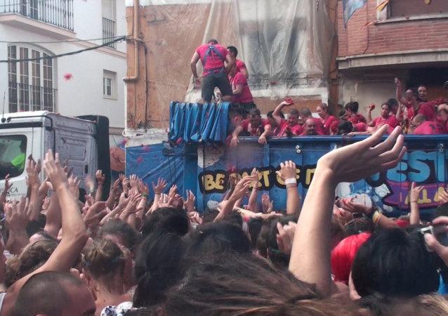 Espagne: la plus célèbre bataille de tomates