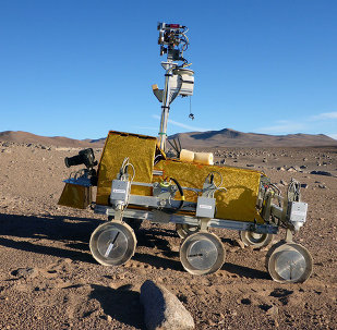 Prototype d'un rover martien européen