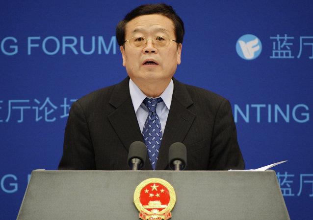 Le vice-ministre chinois des Affaires étrangères Cheng Guoping, le 29 mai 2012