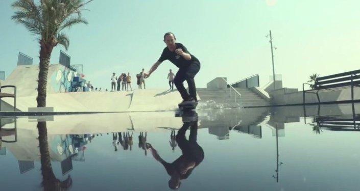 Un skateboard l vitation cr e par les usa sputnik france - Invention du skateboard ...