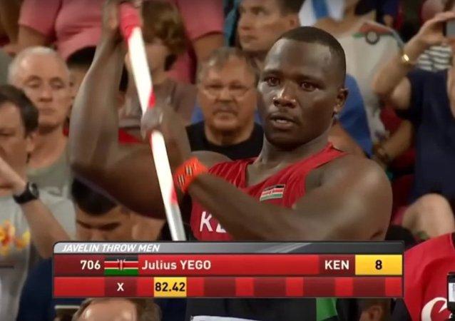 Javelot: le Kényan Julius Yego sacré  champion du monde