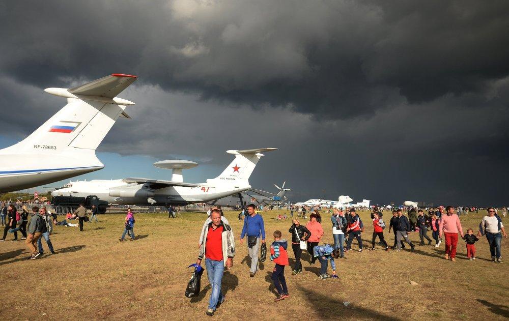 Clap de fin pour le Salon aérospatial MAKS 2015