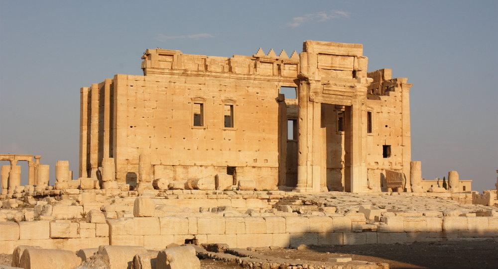 Le temple de Bel à Palmyre