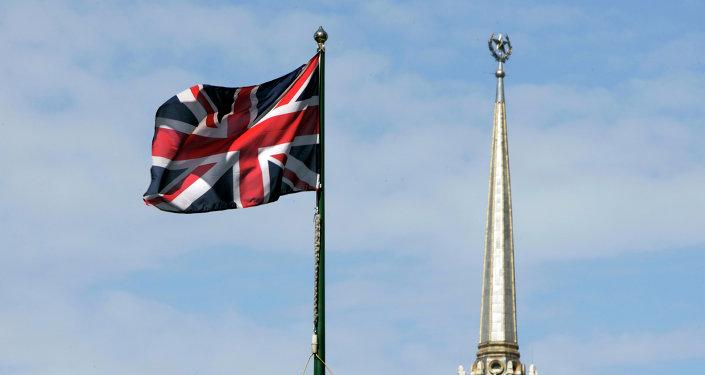 Le drapeau de la Grande Bretagne