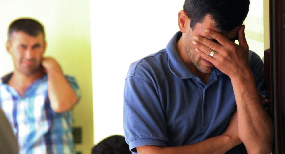 Syrien Abdullah Kurdi, qui a perdu sa femme et ses deux fils dans le naufrage d'une embarcation de migrants tentant de rejoindre la Grèce depuis la Turquie