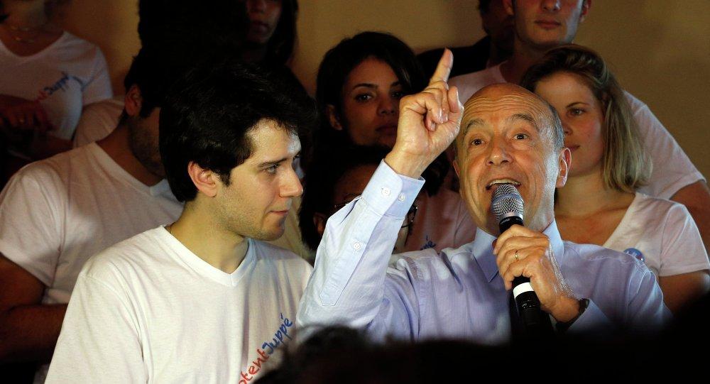 Alain Juppé, ex-permier ministre français et maire de Bordeaux