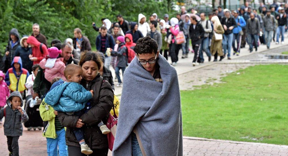 Migrants en Allemagne, Sept. 6, 2015.