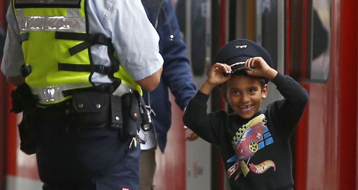 Garçon-migrant en Allemagne