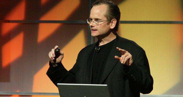 Lawrence Lessig, professeur de Harvard