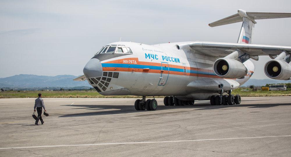 Avion humanitaire russe
