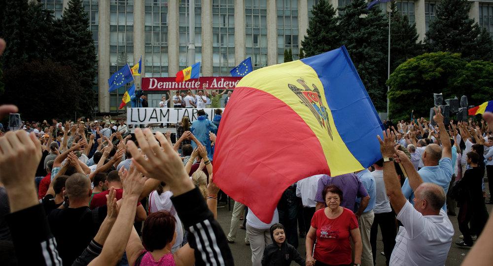 Contestation en Moldavie