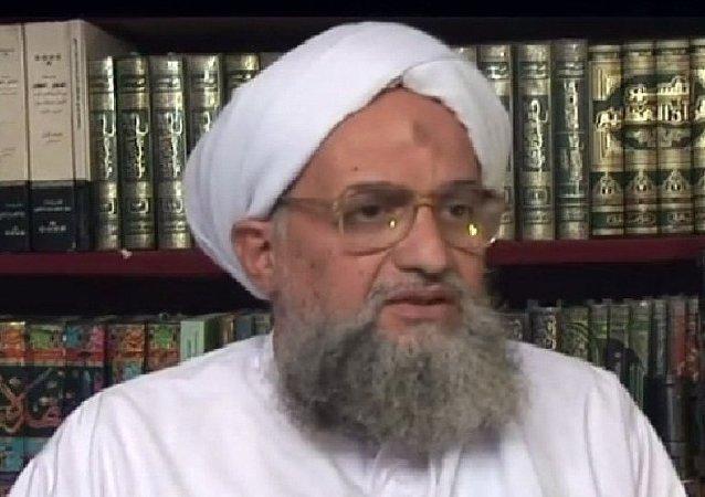 Ayman Al-Zawahiri,  chef d'Al-Qaïda