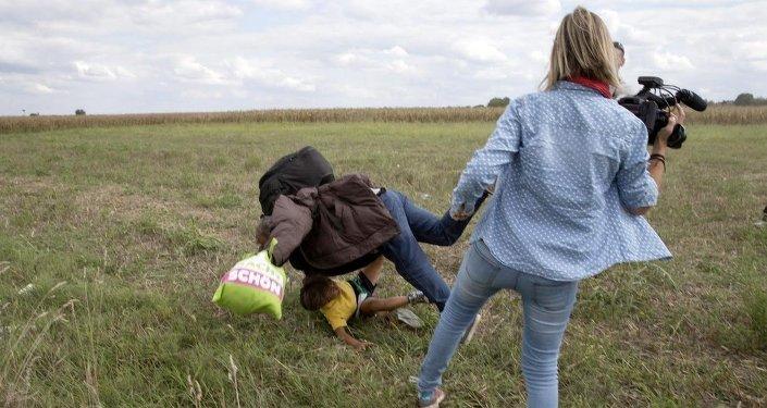 Une journaliste hongroise a été congédié