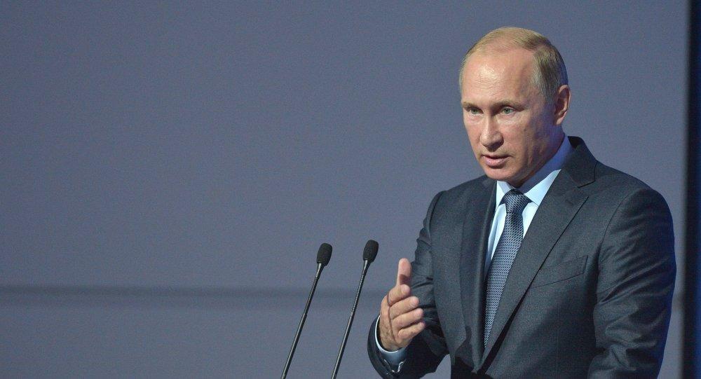 Le président russe Vladímir Poutine