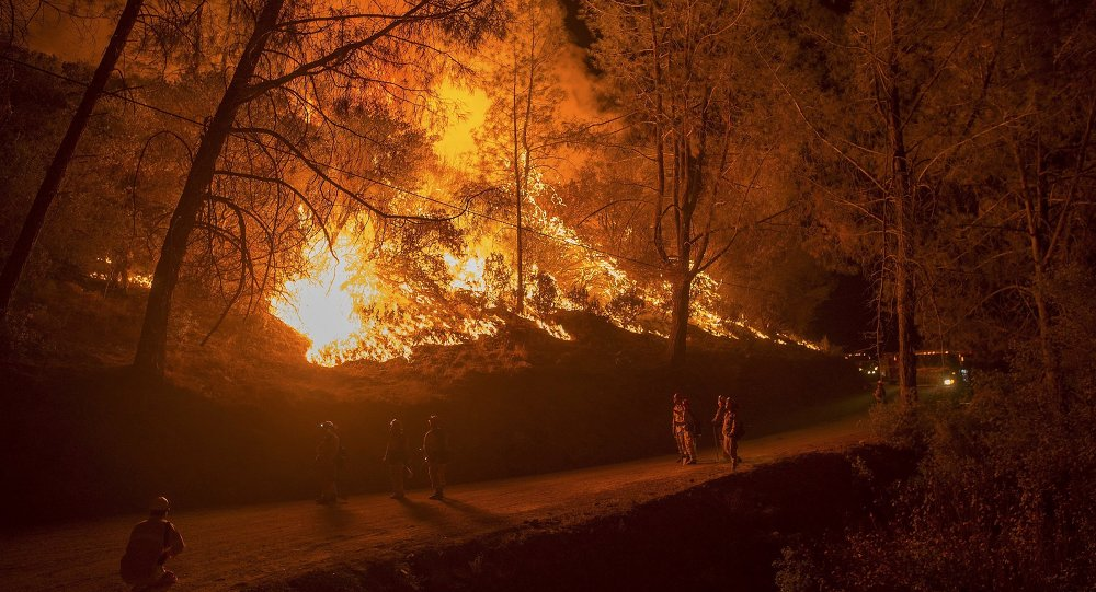 Incendies en Californie, Septembre 12, 2015.