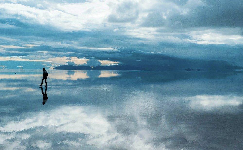 Salar d'Uyuni, le plus grand désert de sel au monde (Brésil)
