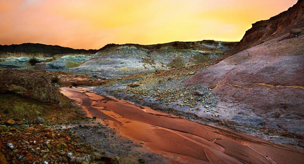 L'eau sur Mars