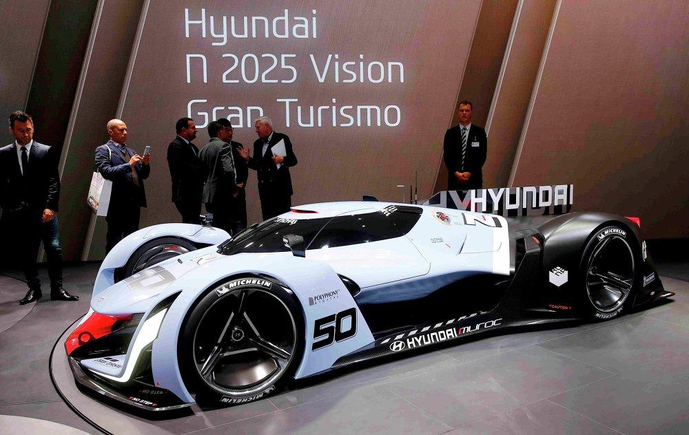 Présentation de la Hyundai N50 au salon de Francfort