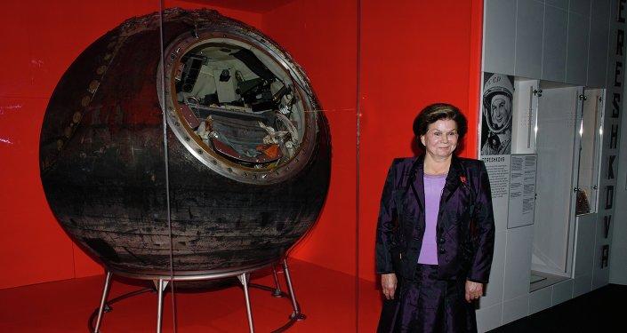 Valentina Terechkova, la première femme dans l'espace, a revu son vaisseau spatial Vostok 6 lors d'une exposition épique du Science Museum de Londres