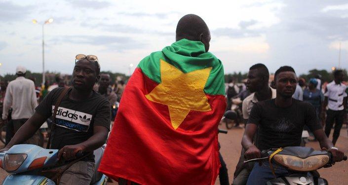 Protestations à Ouagadougou, Burkina Faso
