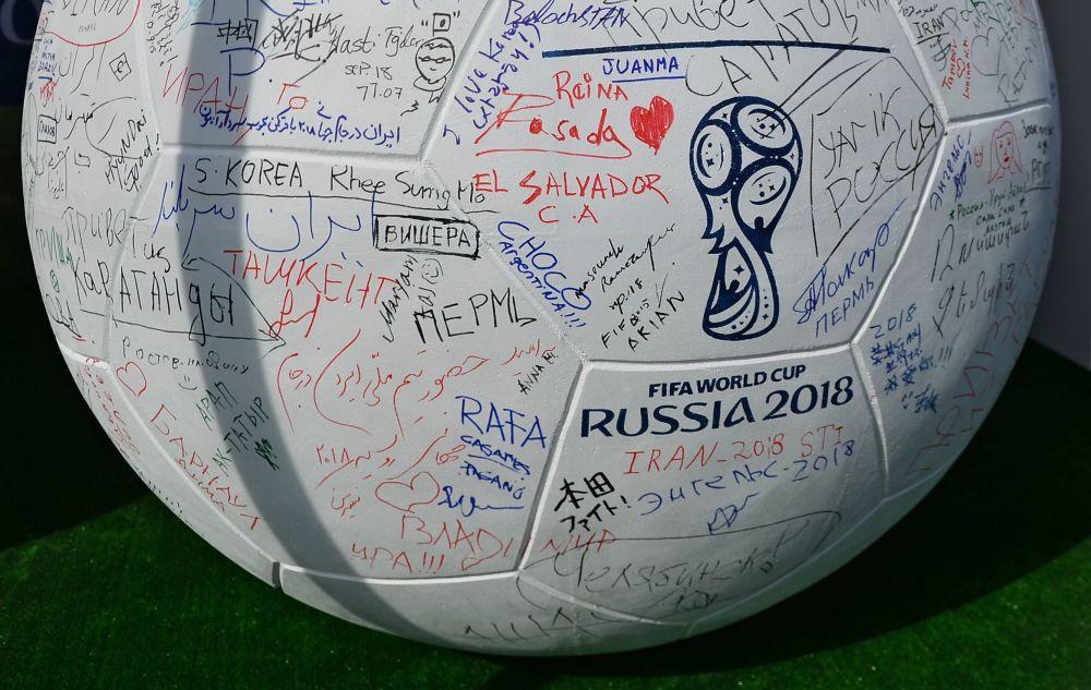 J-1000 avant la Coupe du monde de football 2018