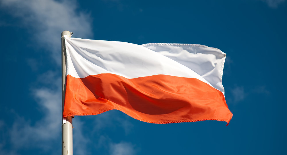 Le drapeau polonais