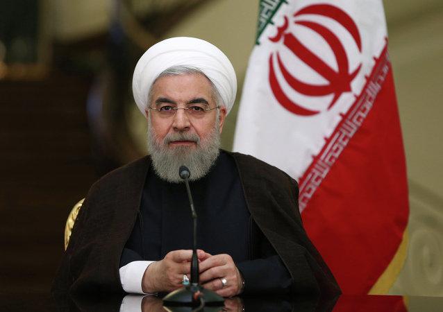 Hassan Rohani, président iranien