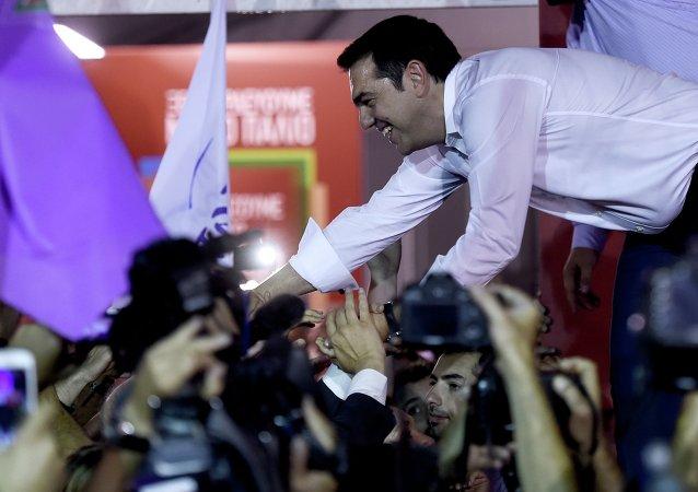 Le parti de l'ex-premier ministre Alexis Tsipras est arrivé en tête des élections anticipées