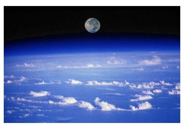 La couche d'ozone protégeant la Terre