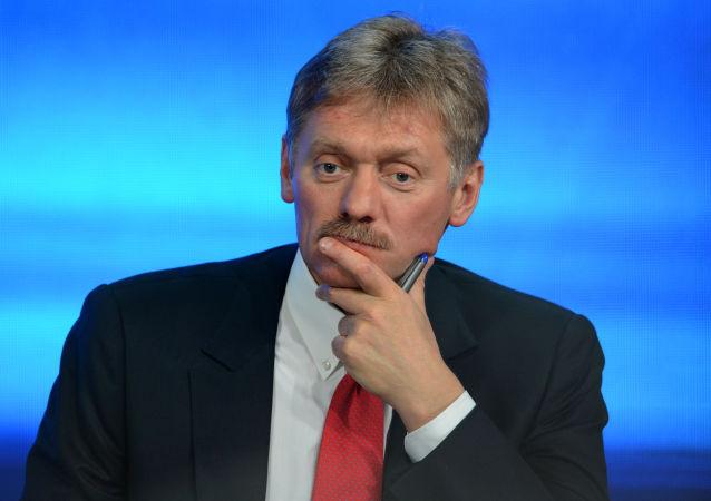 Le porte-parole du Kremlin, Dmitri Peskov. Archive photo